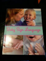 Baby Sign Language Hardcover Book - $8.00