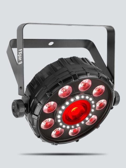 Chauvet FXpar 9 Compact Multi Effect Par 64 LED Light Strobe RGB + UV Disco DJ