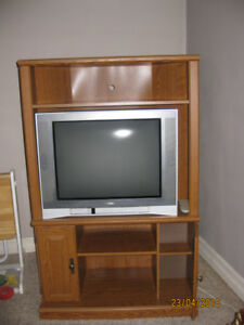 Television Entertainment Cabinet