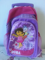 Dora backpack with wheels