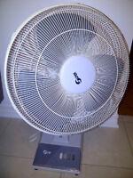 Ventilateur electrique fonctionne comme neuf - seulement 35$