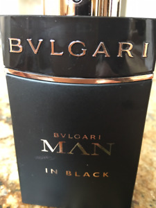 BVLGARI MAN  in BLACK EDP 3.4 oz Eau de Parfum BVL Spray Unbox