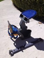 Front mount baby seat.