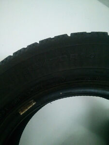 Goodyear Nordic hiver/winter tires 185 70 14 West Island Greater Montréal image 2