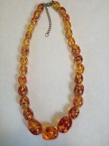 Amber beads - now selling for $ 250.00