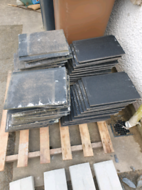 58 roof tiles, 21 new and 37 used