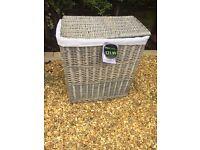 Beautiful Wicker Laundry Basket