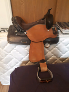 15 inch Sierra barrel saddle