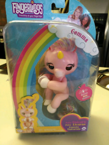 "Unicorn fingerling...""Gemma,"" BRAND NEW IN BOX"