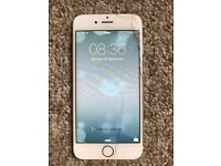 iPhone 6 Gold 16GB Cracked Screen