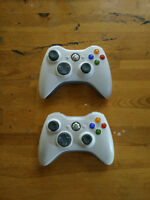 2 Xbox 360 controllers, 360 games and original xbox games