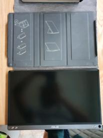 ASUS ZenScreen MB16ACE 15.6 usb-c monitor portable