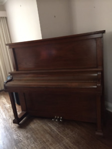 1924 Heintzman Upright Grand Piano