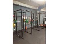 Gym equipment, Power rack, benches etc