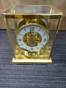 JAEGER LE COUTRE BRASS MOTION MANTLE CLOCK Kings Cross Inner Sydney Preview
