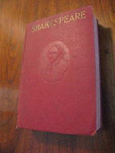 1911 vintage book! The Complete Works of William Shakespeare
