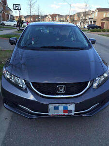 2014 Honda Civic EX Sedan Lease Takeover