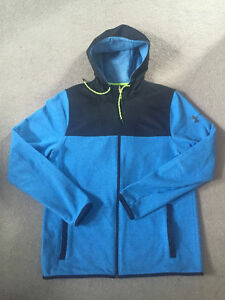 Mens Under Armour Cold Gear Hooded Zip Up. Size Medium