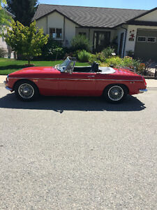 1969 MGB! Fall price! Car needs a new home!
