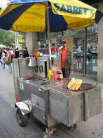 The Little Spitfire Hotdog Cart and Extras
