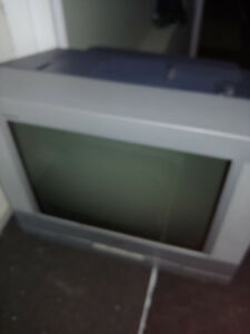 older television with remote and dvd rca