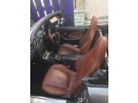 Brown leather seats mx5, classic car, kit car
