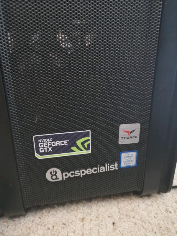 VR 4K Gaming PC i7-8700k 6 Core 32GB Ram GTX 1060 6GB, 250GB SSD | in  Birstall, Leicestershire | Gumtree