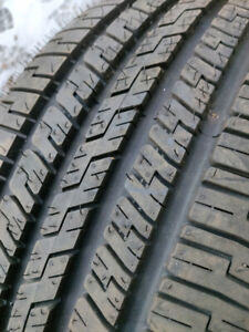 2  P215 45R17 GOODYEAR M&S TIRES