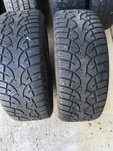 "Winter Tires  205/55    R16"".   910."