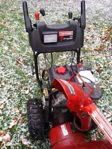 Snowblower must go craftsmen 27in Kawartha Lakes Peterborough Area image 2