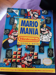 Mario mania vintage players guide