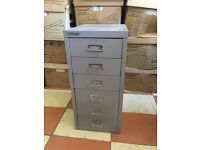 Bisley filing cabinet - small