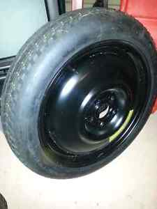 Spare Tire T135/70D16 5x100 bolt patter from subaru wrx Windsor Region Ontario image 1
