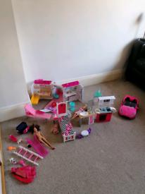 Barbie items