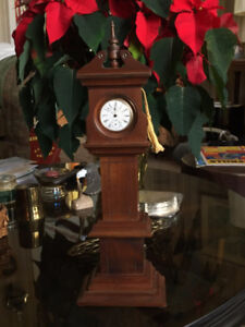 Hand Crafted Miniature Grandfather Clock