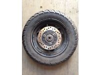MOTORCYCLE / SCOOTER / MOPED WHEEL & TYRE