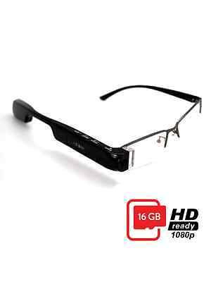 google map voice navigation Bluetooth action camera eyewear smart glasses 16G