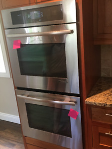 Jenn Air Double Oven convection. Less than 5 years old.$1500 obo