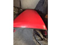 Honda fire blade 2001 954 rear seat cowl and windshield