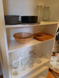 Kitchen bundle inc storage jars £20