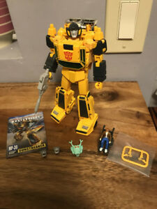Transformers MP 25 Tracks, and MP 39 Sunstreaker