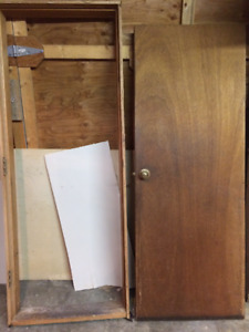 "30"" Solid core wood door"