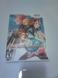 Arc Rise Fantasia Wii Game