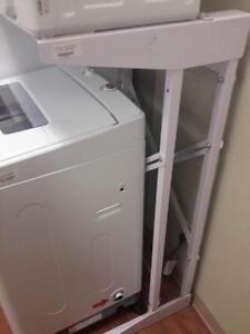 *** USED *** HAIER COMPACT LAUNDRY STAND   S/N:51248851   #STORE306