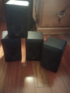 Set of Four Vintage Optimus Speakers - Superb Sound Quality London Ontario image 1