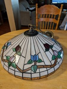 Tiffany hand made light for over kitchen table
