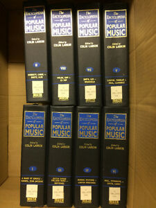 The Encyclopedia of Popular Music by Colin Larkin