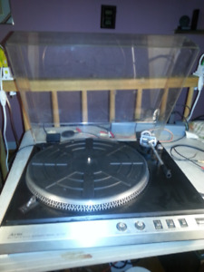 6 X Assorted Vintage Turntables for parts or repair TRADE