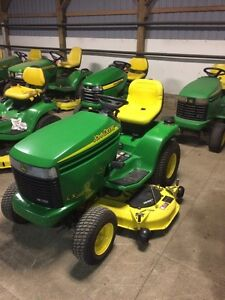 John deere riders for sale. All sizes