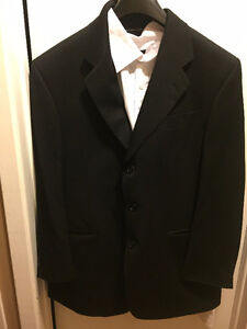 Mens' Adaptive Clothing - Suit for man in wheelchair